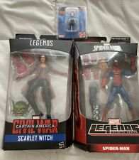 MARVEL LEGENDS PIZZA SPIDER-MAN, SCARLETT WITCH, SPIDER-GWEN SDCC BOBBLE Lot