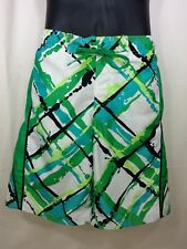 Nike Mens Size Large Multi-Color Hawaiian Board Shorts Trunks Green