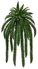 "ONE 48"" Boston Fern Bush Artificial Silk Plants Fake tree Decor Palm flower  466"