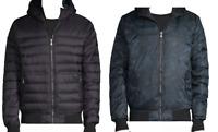 Pajar Canada Black Navy Camo Double-Sided Men's Duck DOWN Hood Jacket Sz 2XL