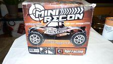 HPI Mini Recon 1/18 Brushless Mini Monster Truck Used In Original Box
