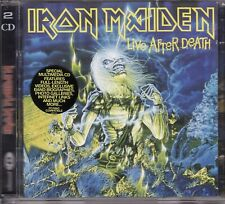 IRON MAIDEN LIVE AFTER DEATH 2 CD ENHANCED WITH EXTRA'S & BOOKLET NEW