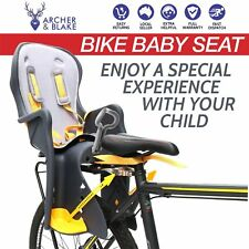 Bike Baby Seat for Kids Child Toddler Standard Rear Carrier with Handrail