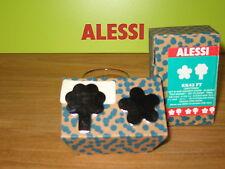 ALESSI *NEW* Set 2 magnétiques inox Fleur/Arbre 3,5/4,5cm Girotondo