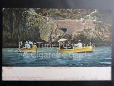 Old PC Italy: Capri, Entrata della Grotta Azzurra