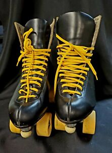 VTG Reidell RedWing Leather Douglass Snyder Super Deluxe Mens Roller Skates 7.5