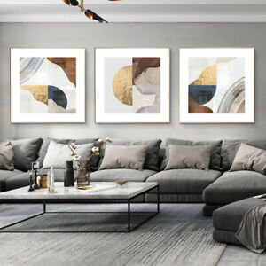 Geometric Splicing Canvas Poster Art Print Wall Picture Living Room Home Decor