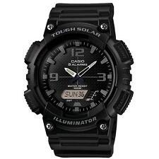 Casio AQS810W/1A2V 100m Water Resistant Solar Power Analog/Digital Watch - Black