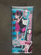 Monster High Dead Tired Draculaura Doll *NEW*