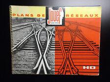 Catalogue Jouef 1963 Plans de réseaux Trains