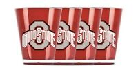 Ohio STate Buckeyes Shot Glass Set Acrylic Set of 4