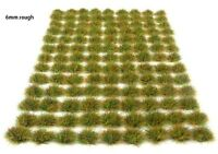 x117 sheet Self adhesive static grass tufts - Model scenery flock wargames