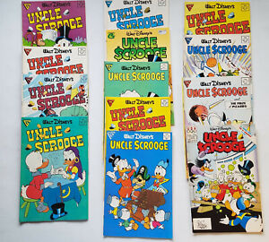 Uncle Scrooge Lot 13 Disney's Gladstone Comics Books Carl Barks FREE SHIPPING NR