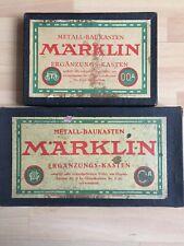 MÄRKLIN Metall-Baukasten Nr.00A (unbespielt) & 0A