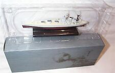 HMS Nelson war Ship Mounted on display Plinth 1:1250 Scale  mib
