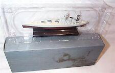 Buque de guerra HMS Nelson montada en pedestal pantalla MIB de escala 1:1250