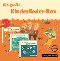 DIE GROßE KINDERLIEDER-BOX  3 CD NEU
