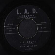 DON APILADO: L.a. Bound / You Are My Love 45 Rockabilly