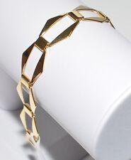 ECHTES Silber 925 Armband - Vergoldet mit 24Karat Gold - Neuheit - Top Qualität