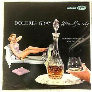 Dolores Gray - Warm Brandy - 1957 Aus Mono OG Press - VG+ / VG+ Vinyl LP
