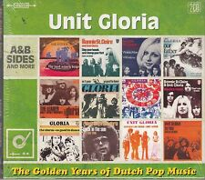 Unit Gloria - Golden Years of Dutch Pop Music, 2CD 43 Tracks A & B Sides Neu