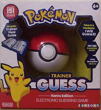Pokemon trainer Electronic Guess Game-Kanto Edition