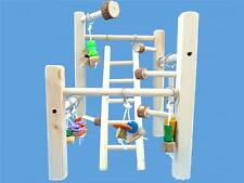 DELUX CAGE TOP PLAY GYM-WITH LADDER,TOYS,SWING