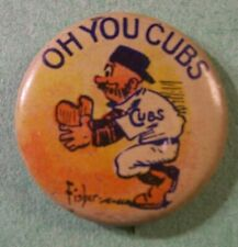 "1910 Chicago Cubs ""Oh You Cubs"" Pin Pinback"