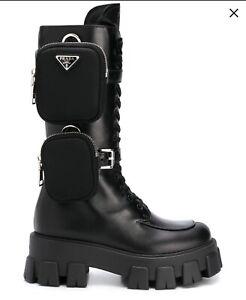 Prada monolith boots 6.5/7