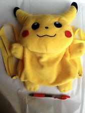 New Other~POKEMON PIKACHU KNAPSACK PLUSH, ACQUIRED IN JAPAN-ship free