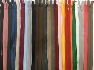 ZIPPER NYLON ZIP CHUNKY /OPEN ENDED ZIP HEAVY DUTY PLASTIC Coat jacket zip