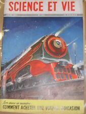 Science et vie N° 405 1951 requin Physalies - Dock flottant - Maquette train
