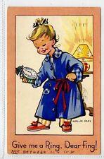 (Gt178-428) Mollie Grey Comic, Alarm Clock Theme 1968 Used VG