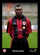 Bachirou Salou Autogrammkarte Eintracht Frankfurt 1999-00 Original Sign+ A 73990