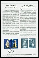 2009 Lighthouse,Ship,Leuchtturm,Phare,Faro,Constanta,Romania,Mi.6404,special FDC