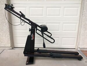 Nordic Track 900-T Inclining Commercial Skier Exercising Ski Machine Works Well!
