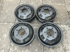 """Iveco Daily 16"""" Steel Wheels Fx4 Fairway Taxi"""