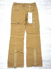 NEW Da-Nang Women's Pockets Caram Pants TWW5435 X-SMALL/ XS