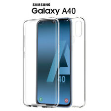 34e0be82c5e Funda Proteccion 360º Gel TPU Hibrida Transparente para Samsung Galaxy A40