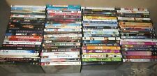 100 DVD MOVIE LOT, RANDOM MIX DRAMA, ACTION, KIDS, FAMILY, FIT COMPLETE GRADE A