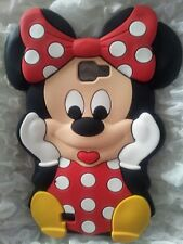 Silicone Cover per cellulari MINNIE1 RED para SAMSUNG GALAXY NOTE 1 N7000