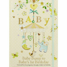 👶Baby Journal Bump To 1St Birthday Pregnancy Keepsake Newborn Gift Record Book