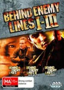 Behind Enemy Lines 1-3 DVD