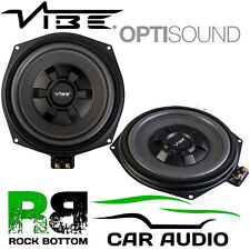 """Vibe BMW 1, 3, 4, 5, 6 Series & X1, X3 8"""" Underseat Car Bass Sub Subwoofers PAIR"""