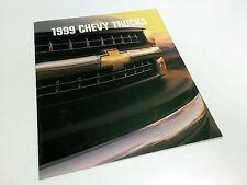 1999 Chevrolet S-10 Tracker Blazer Venture Astro Silverado Suburban Brochure USA