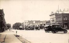 RPPC GRISWOLD, IA Street Scene Iowa Vintage ca 1910s Real Photo Postcard
