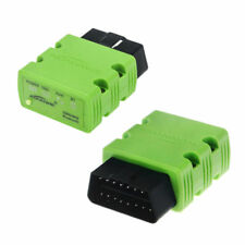 KW902 Mini Bluetooth OBD2 Car Diagnostic Scanner for Android PC - Green WD
