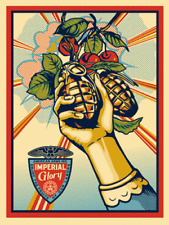 IMPERIAL GLORY 2011 - OBEY GIANT SHEPARD FAIREY PRINT - SIGNED / NUMBERED #/450