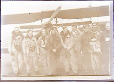 More details for ww2 royal air force tiger moth aviation  raf 1/2 plate glass negative c1930's