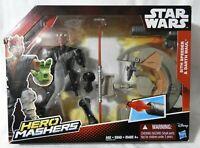 STAR WARS (HERO MASHERS) SITH SPEEDER & DARTH MAUL 2015 (Hasbro) NEW!!!
